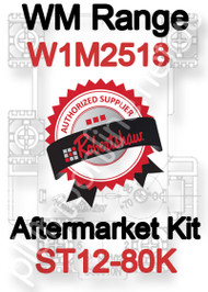 Robertshaw ST 12-80K Aftermarket kit for WM Range W1M2518