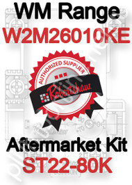 Robertshaw ST 22-80K Aftermarket kit for WM Range W2M26010KE