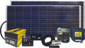 Go Power!—Solar Elite Complete Solar and Inverter System with 320 Watts of Solar