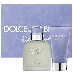 Light Blue Dolce And Gabbana 2pc 2.5oz Set Men