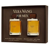 Vera Wang 2pc Set Men With After Shave Lotion
