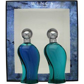 Wings by Giorgio Beverly Hills 2pc 3.4oz Gift Set Men