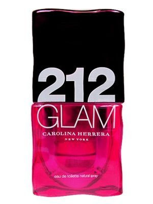 212 Glam by Carolina Herrrera 3.4oz Eau De Toilette Spray For Women