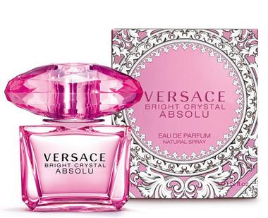 Bright Crystal Absolu by Versace Eau De Parfum Spray For Women 3.0oz