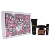 Crystal Noir by Versace 3pc Perfume Gift Set For Women