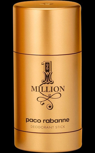 1 Million By Paco Rabbane Deodrant Stick For Men 2.2oz