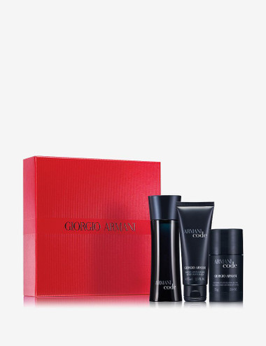 Armani Code By Giorgio Armani 3pc 2.5oz Cologne Gift Set Men
