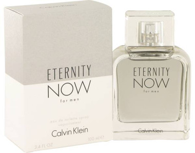 Eternity Now For Men By Calvin Klein Eau De Toilette Spray 3.4oz
