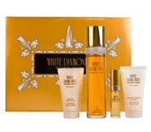 White Diamonds By Elizabeth Taylor 4pc Perfume Gift Set Women