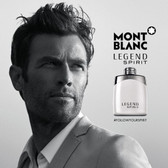 Mont Blanc Legend Spirit Eau De Toilette Spray For Men 3.4oz