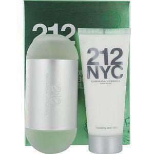 212 by Carolina Herrera 2pcs Perfume Gift Set With Body Lotion