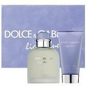 Light Blue By Dolce Gabbana 3pc Cologne Gift Set For Men