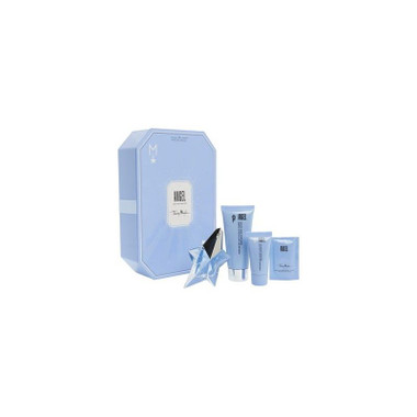 Angel By Thierry Mugler 4pc Gift Set Women With 0.8oz Perfume Women