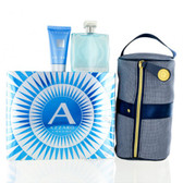 Chrome by Azzaro 3pc Cologne Set Men With Bag