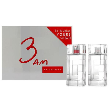 3AM by Sean John 2pc Set With After Shave Lotion Men