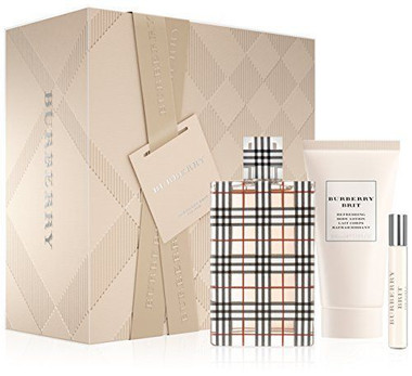 Burberry Brit 3pc Eau De Parfum Spray Set