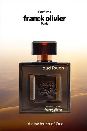 Oud Touch Franck Olivier Eau De Parfum Spray For Men 3.4oz