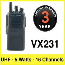 Vertex VX231 Two Way Portable Radio