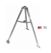 Heavy-Duty 3 Foot Galvanized Antenna Tripod