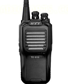 HYT TC-610 Black Analog UHF 4-Watt Portable Radio [TC-610U-2-BLK]