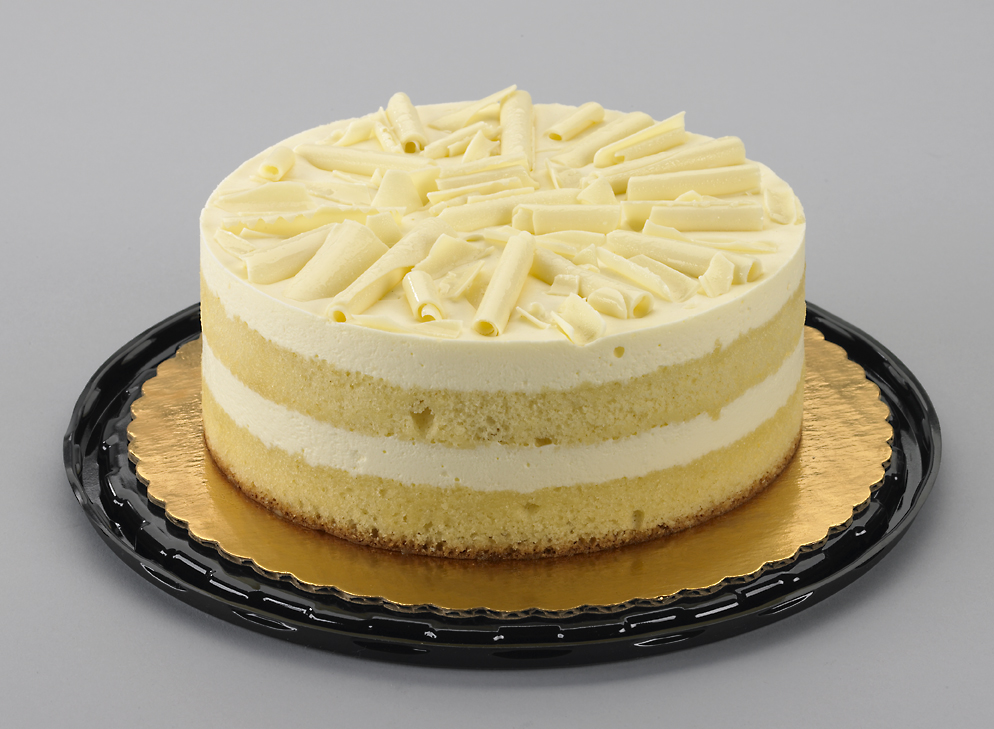 Lemon Cream Cake With Mascarpone Cheese