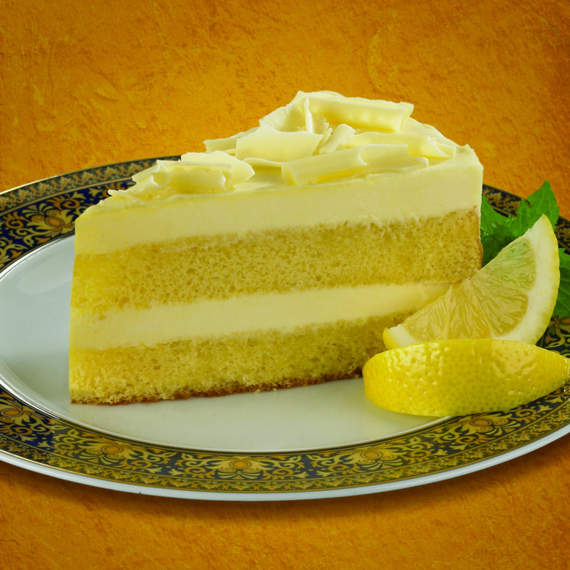 Lemon Cannoli Cake