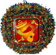 Mexican fiesta pull pinata