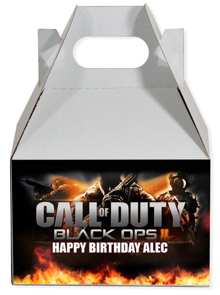 Call of Duty Black Ops II gable box