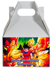 Dragon Ballz party favor box
