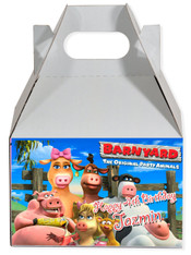 Back to the Barnyard party favor box