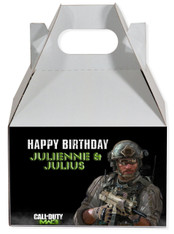 Call of Duty party favor box