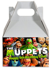 The Muppets party favor box