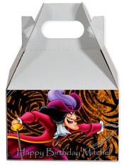 Captain Hook party favor box