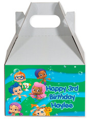 Bubble Guppies party favor box