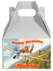 Planes party favor box