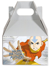 Avatar the last airbender party favor box