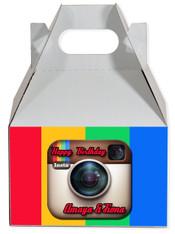 Instagram party favor box