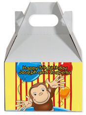 Curious George party favor box