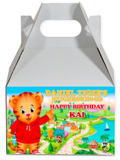 Daniel's Tiger party favor box