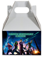 Guardians of the galaxy party favor box