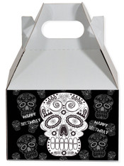 Dia de los muertos party favor box