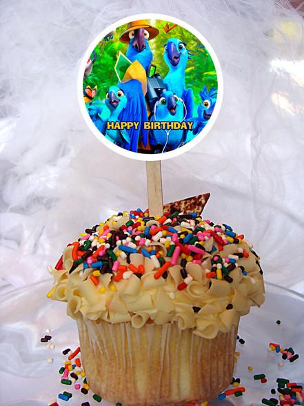 Rio Cupcake topper
