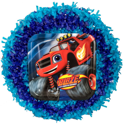 Blaze and the Monster Machines pull pinata