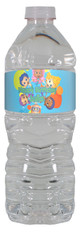Bubble Guppies personalized water bottle labels