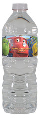 Chuggington personalized water bottle labels