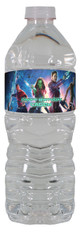 Guardians of the Galaxy personalized water bottle labels