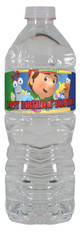 Handy Manny personalized water bottle labels