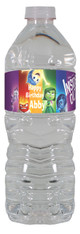 Inside Out personalized water bottle labels