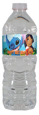 Lilo and Stitch personalized water bottle labels