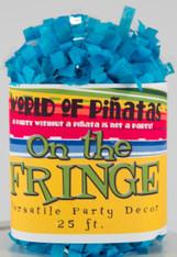 Turquoise Tissue Garland Festooning